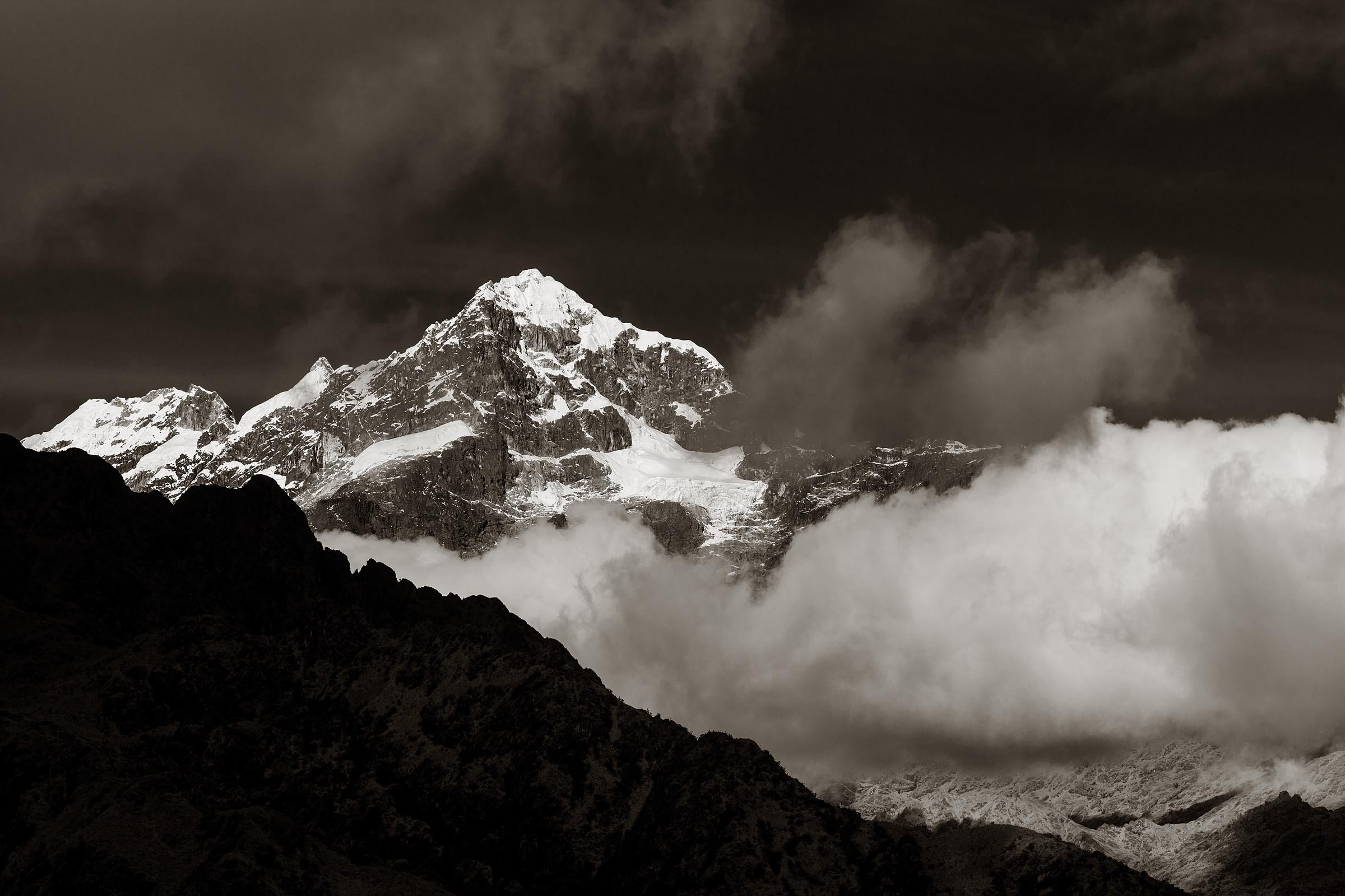 Spetactular views along the Inca Trail.