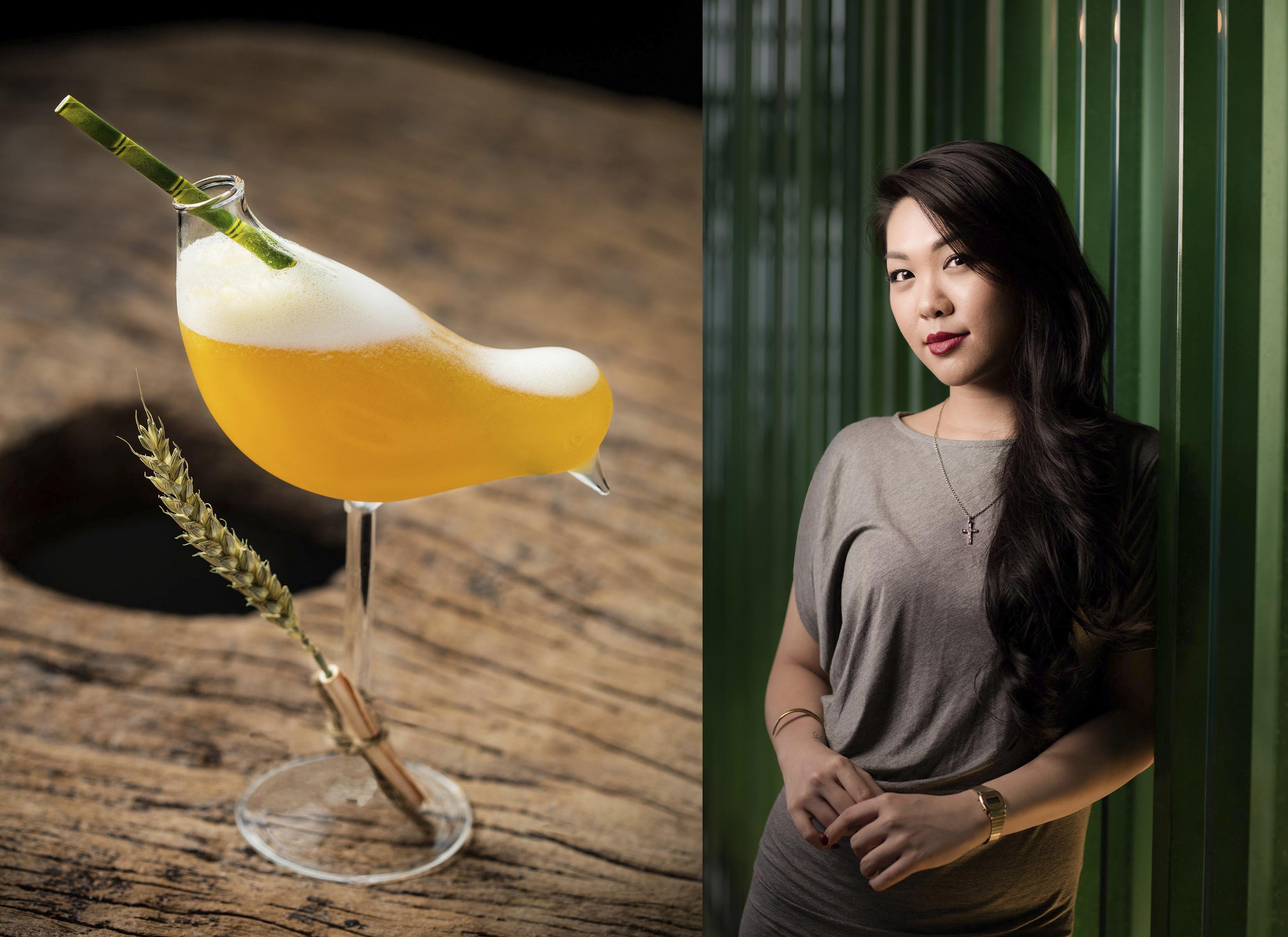 Amanda Wan, Beverage Development Manger, Tasting Group Ltd., and Bar Manager at The Envoy in Hong Kong.
