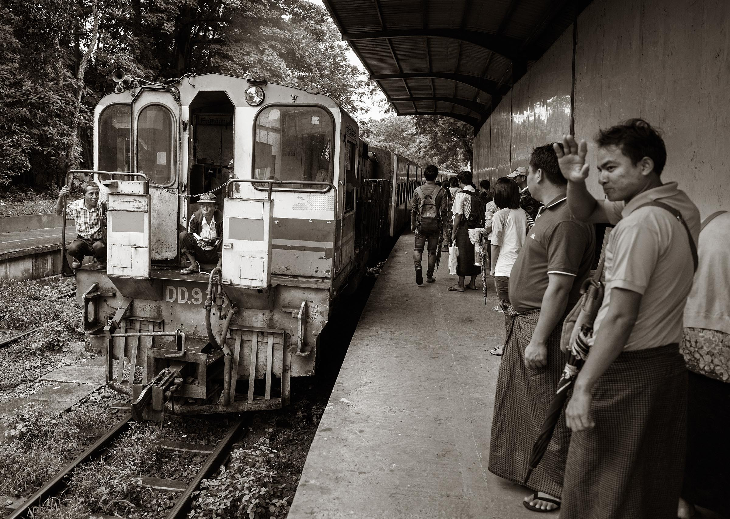 Circular Railway Around Yangon